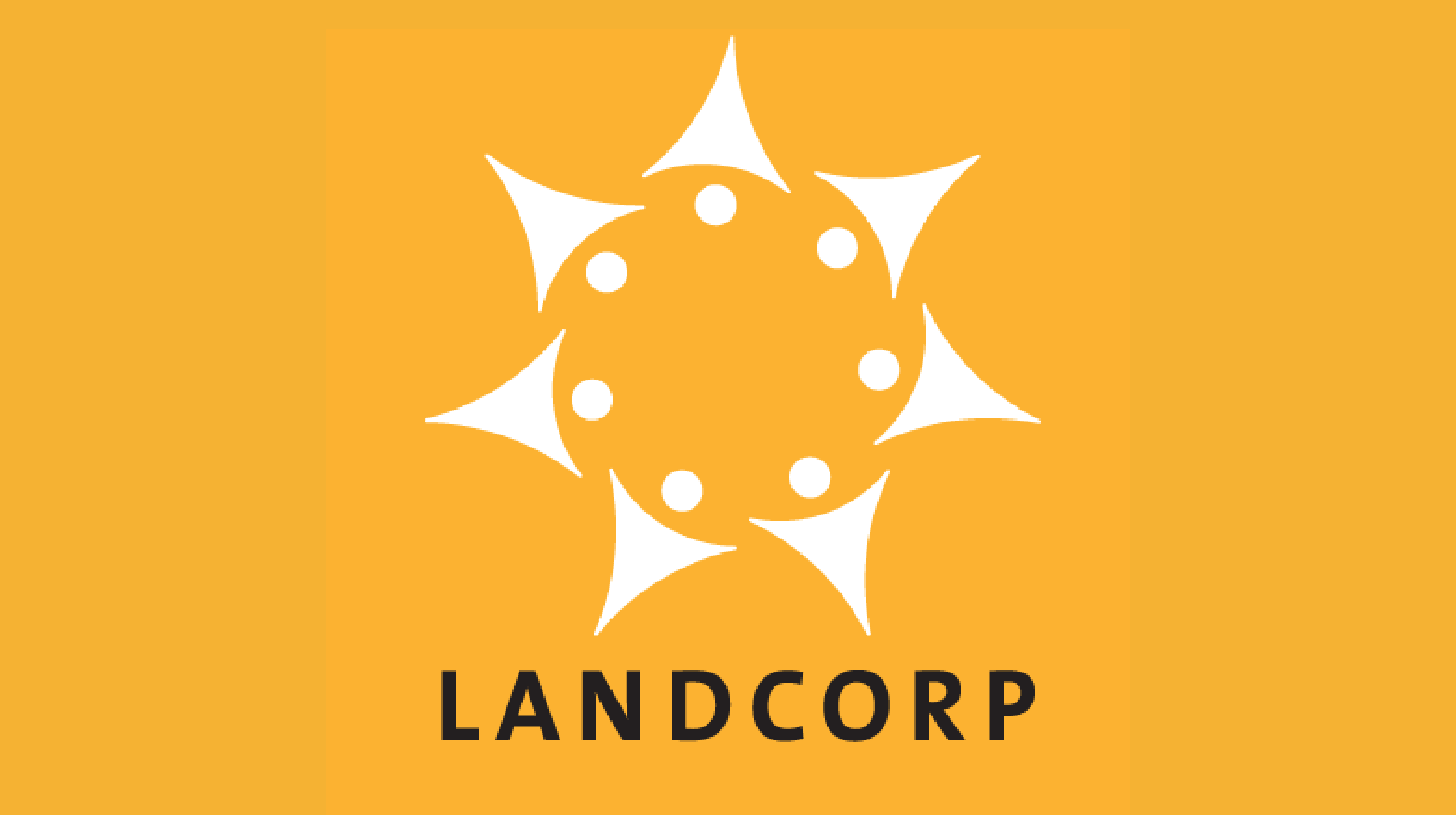 MyOsh Landcorp Yellow Logo