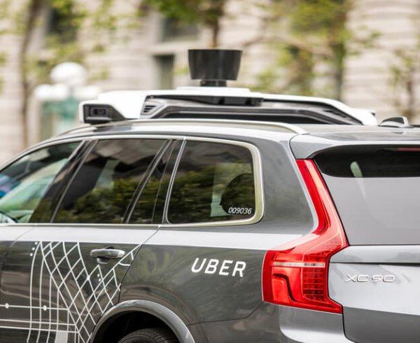 Uber Self-Diving Car myosh