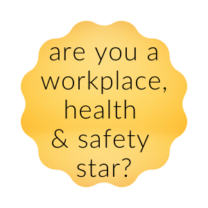 workplace health and safety star