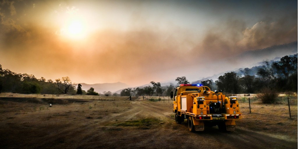 Australian bushfire cleanup safety