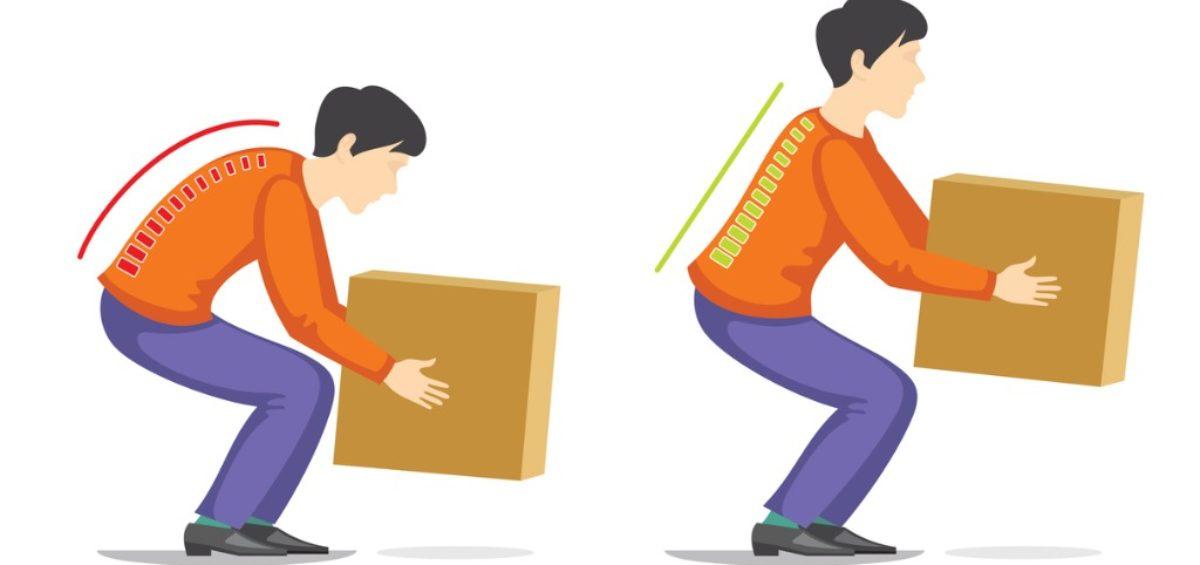 lifting technique back pain