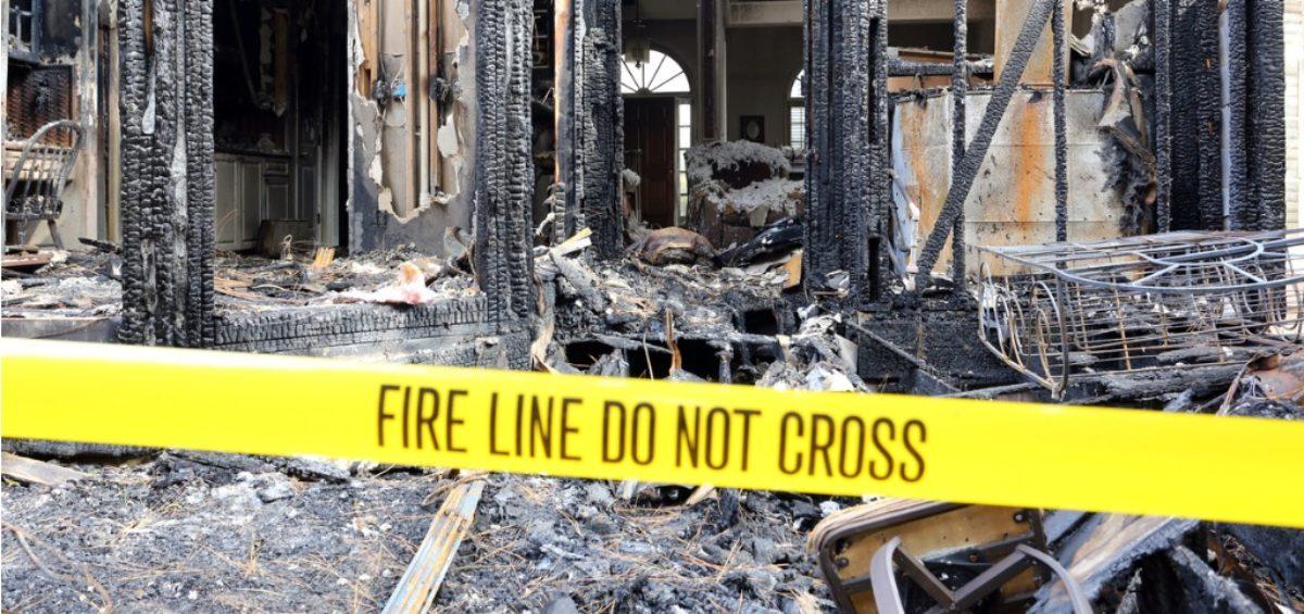 bushfire damage cleanup asbestos