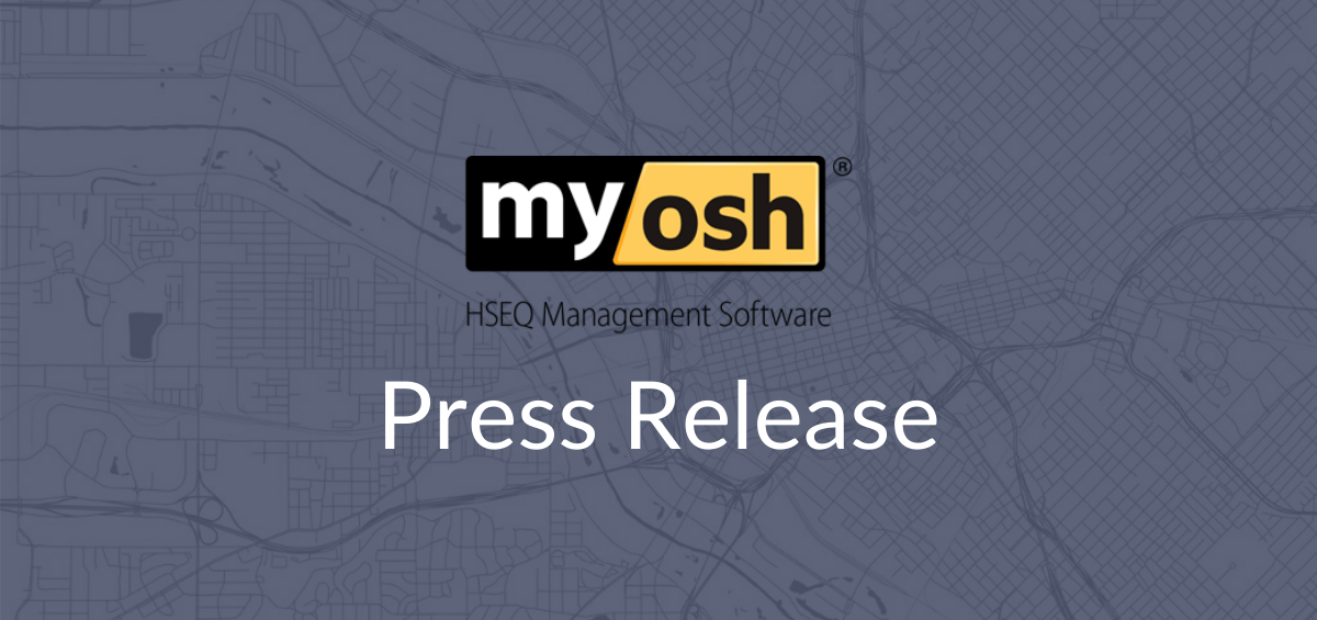 myosh press release coronavirus geofencing